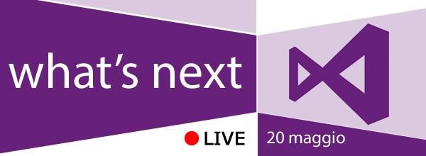 #vs, #aspnet, #wp81, #win8, #xamarin e tanto altro https://aspit.co/vs14-live 20/05 in webcast, iscriviti!