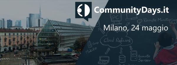 tornano i #CDays18: 24 Maggio a Milano! CFP e iscrizioni aperte.una giornata intera dedicata al web in tutte le sue forme.info e iscrizioni su http://aspit.co/CDays-18