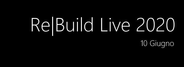 Siamo live con l'agenda di Re|Build 2020, il prossimo #aspilive del 10 Giugno dedicato alle recenti novità di #MSBuildhttps://aspit.co/ReBuild-20 Tanti contenuti, una nuova interfaccia per interagire e un panel finale per Q&A. Vi aspettiamo!