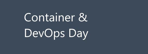Ci vediamo il 18 per il nostro prossimo #aspilive! Parleremo di Container e DevOps! Non mancante! Agenda & iscrizioni => https://aspit.co/ContainerDevOpsDay-21 #kubernetes #docker #containers #devops #aks #terraform