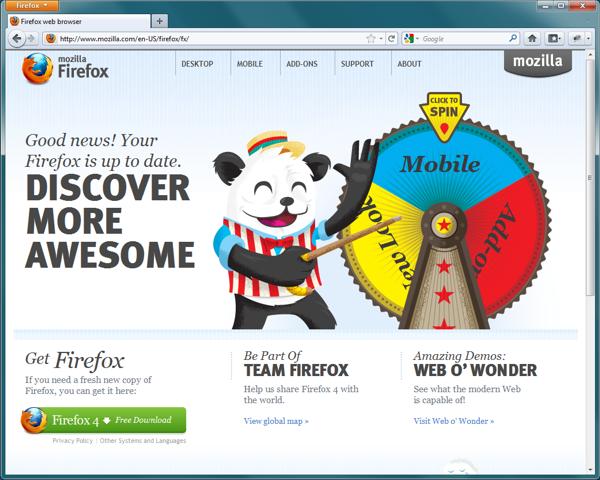 Disponibile al download la versione finale di Mozilla