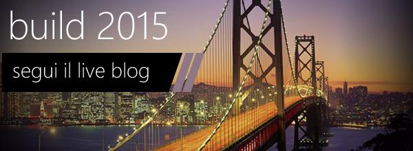 anche oggi segui con noi #build15 da San Francisco: https://aspit.co/build15 #vs2015 #windows10