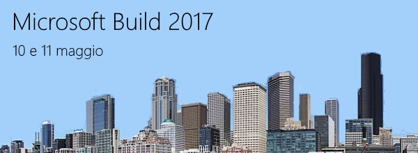 segui con noi dalle 17 alle 20 di oggi #MSBuild live da Seattle https://aspit.co/Build2017